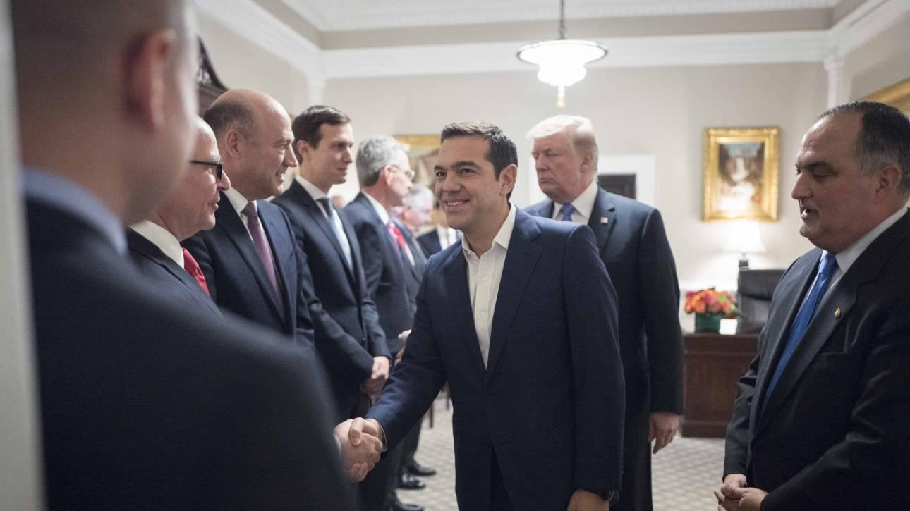 Με τον αντιπρόεδρο των ΗΠΑ συναντάται σήμερα ο Αλέξης Τσίπρας