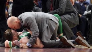 NBA: Σοκ στην πρεμιέρα των Σέλτικς με τον τραυματισμό του Χέιγουορντ (vids)