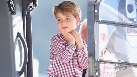 Οι αγαπημένες σειρές του μικρού πρίγκιπα Τζορτζ