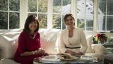 Με τη σύζυγο του Αντιπροέδρου των ΗΠΑ συναντήθηκε η Μπέττυ Μπαζιάνα