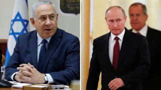 Επικοινωνία Πούτιν – Νετανιάχου για τη Συρία και το πυρηνικό πρόγραμμα του Ιράν