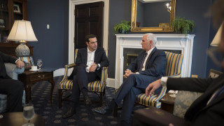 Ο Τσίπρας παρουσίασε στον αντιπρόεδρο των ΗΠΑ non paper με τις τουρκικές παραβιάσεις
