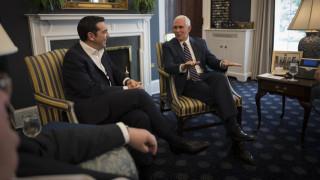 Παππάς για την συνάντηση Τσίπρα - Πενς: Αναγνωρίζεται ο κρίσιμος ρόλος της Ελλάδας
