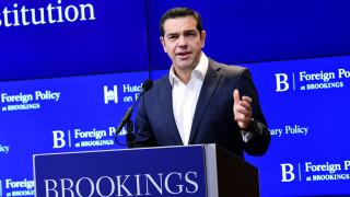 Διαβεβαιώσεις Τσίπρα από το Brookings για προσήλωση στις μεταρρυθμίσεις και πάταξη της διαφθοράς