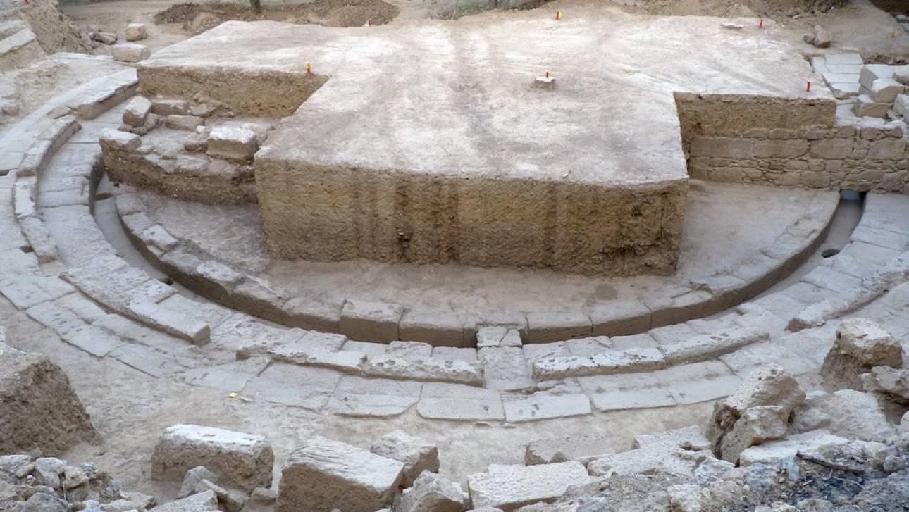 Μεσσηνία: Το αρχαίο θέατρο της Θουρίας βγαίνει στο φως