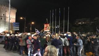 Θεσσαλονίκη: Νέα συγκέντρωση διαμαρτυρίας για την παράσταση «Η Ώρα του Διαβόλου»