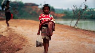 UNICEF: 340.000 παιδιά Ροχίνγκια ζουν υπό άθλιες συνθήκες σε καταυλισμούς (pics&vids)