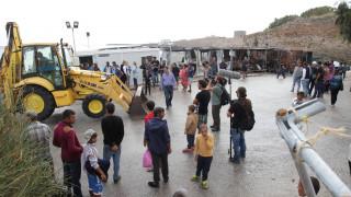 Χίος: Κλείνει ο καταυλισμός προσφύγων και μεταναστών στη Σούδα (pics)