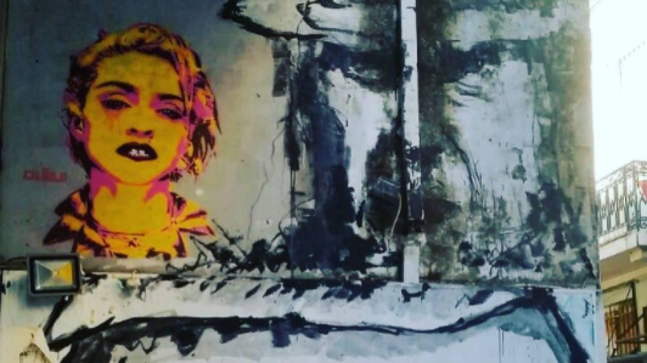 Μαντόνα: η Αθήνα των γκραφίτι στο Instagram της - ποιος ο Έλληνας street-artist