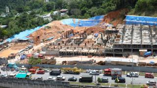 Τρεις νεκροί από κατολίσθηση σε χώρο εργοταξίου στη Μαλαισία