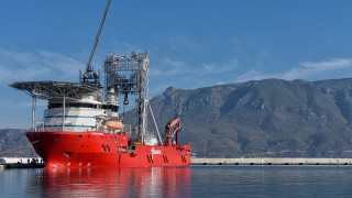 Ξεκίνησαν τεκτονικές έρευνες στον Κορινθιακό με το πλοίο-γεωτρύπανο Fugro Synergy
