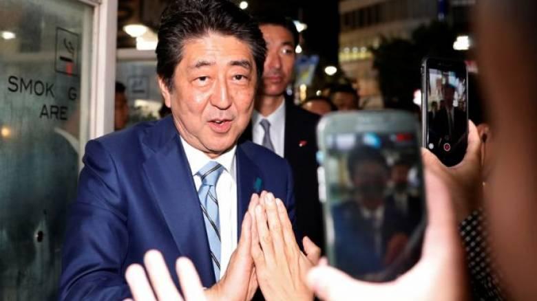 Εκλογές Ιαπωνία: Μεγάλη νίκη του Σίνζο 'Αμπε... δείχνουν τα exit polls
