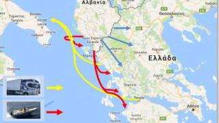 Οι διαδρομές των ναρκωτικών προς και από την Ελλάδα – Οι τρόποι και τα μέσα εισαγωγής τους (Χάρτης)