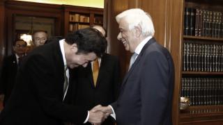 Μηνύματα ειρήνης και συνεργασίας στη συνάντηση Π.Παυλόπουλου - Λι Νακ Γιον (pics)