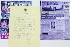 """Το χαμένο """"ερωτικό γράμμα"""" του Τζίμι Κάρτερ"""
