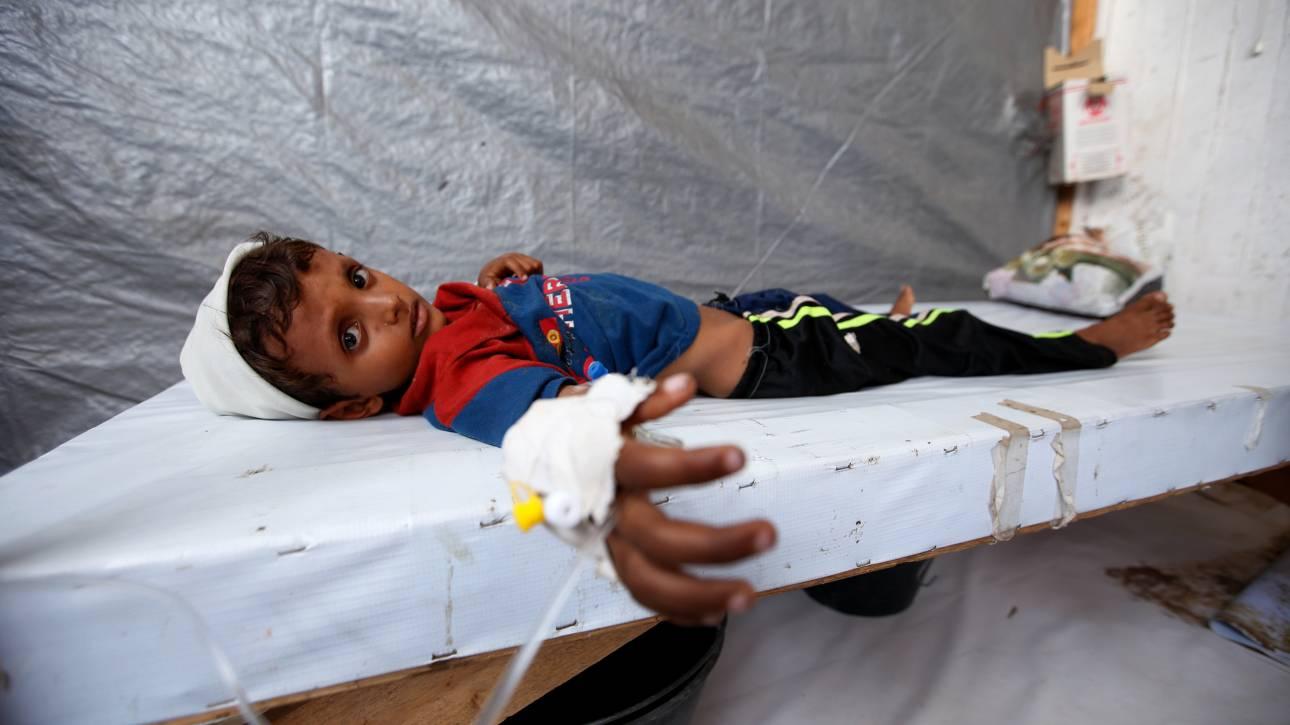 Τουλάχιστον 11 εκατομμύρια παιδιά στην Υεμένη χρειάζονται ανθρωπιστική βοήθεια