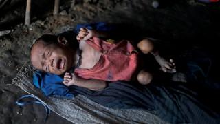 Τα παιδιά στη Συρία υποφέρουν από υποσιτισμό
