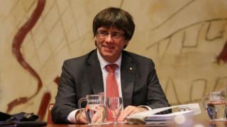«Ο Πουτζντεμόν δεν μπορεί να δώσει τέλος στην κρίση με εκλογές» λέει ο Ισπανός υπουργός Δικαιοσύνης