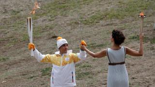 Ξεκίνησε το ταξίδι της Ολυμπιακής Φλόγας για την PyeongChang