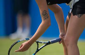 Η Karolina Pliskova έχει δύο τατουάζ πολυνησιακού στυλ που την κάνουν να ξεχωρίζει από τη δίδυμη αδερφή της, Kristyna.