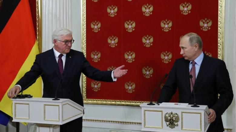 Σταϊνμάιερ – Πούτιν συμφώνησαν να βελτιώσουν τις διμερείς τους σχέσεις