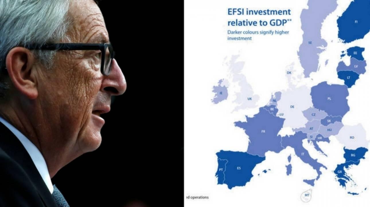Η Ελλάδα 4η πανευρωπαϊκά στη χρήση του «ταμείου Γιούνκερ»