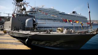Τρία πλοία του Ναυτικού Στόλου στο λιμάνι του Πειραιά για την 28η Οκτωβρίου