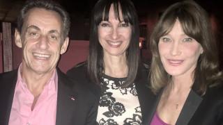 Συνάντηση της Έλενας Κουντουρά με τον Νικολά Σαρκοζί και την Κάρλα Μπρούνι