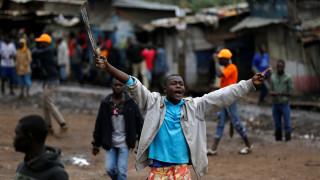 Επεισόδια στην Κένυα την ώρα κατά τη διάρκεια της ψηφοφορίας για τις προεδρικές εκλογές (pics)