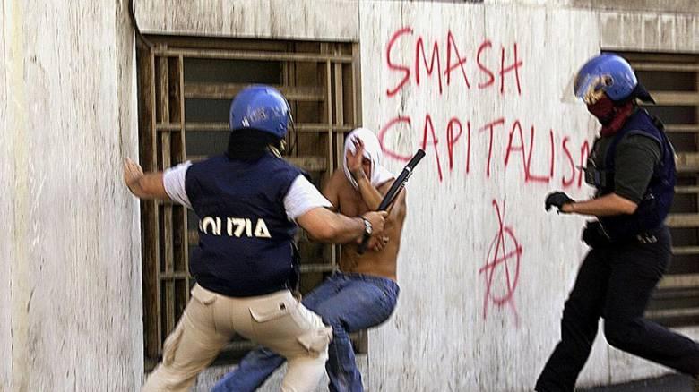 Καταδίκη της Ιταλίας για τα βασανιστήρια διαδηλωτών στην Γένοβα το 2001