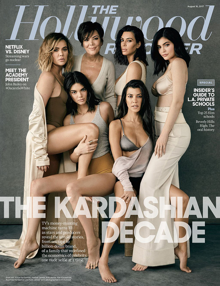 kardashian jenners hollywood reporter cover gallery