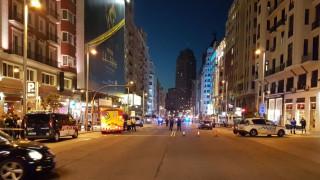 Εκκενώθηκε κεντρικός δρόμος της Μαδρίτης λόγω ύποπτου οχήματος (vid)