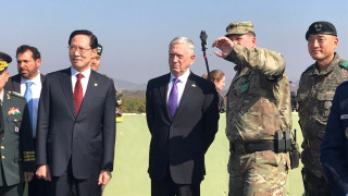 «Στόχος μας δεν είναι ο πόλεμος»: Διαβεβαιώσεις Μάτις από την Κορεατική Χερσόνησο