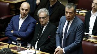Βουλή: Επίθεση Θεοδωράκη σε Τσίπρα - Καμμένο