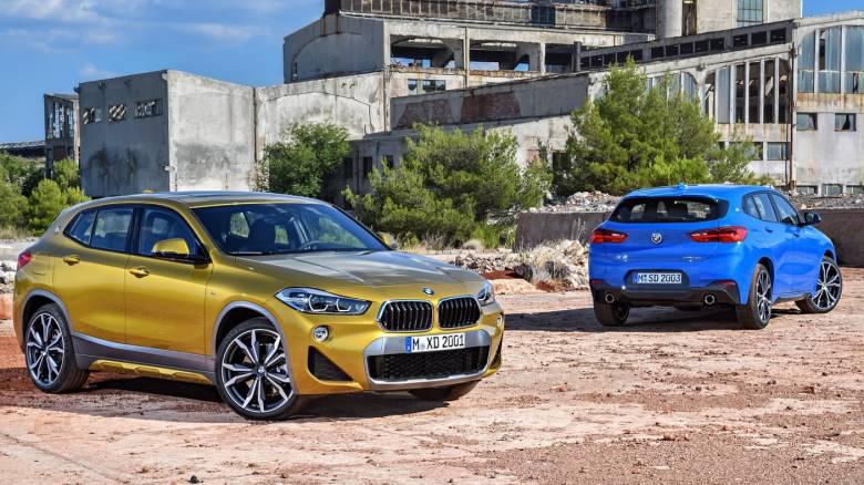 H X2, το νέο μικρό κουπέ SUV της BMW, θα ξεκινά από τα 1.500 κυβικά