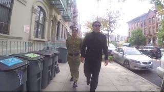 Ο... Κιμ Γιονγκ Ουν στη Νέα Υόρκη (vid)