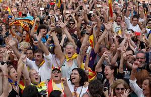 Η Καταλονία ανακήρυξε την ανεξαρτησία της
