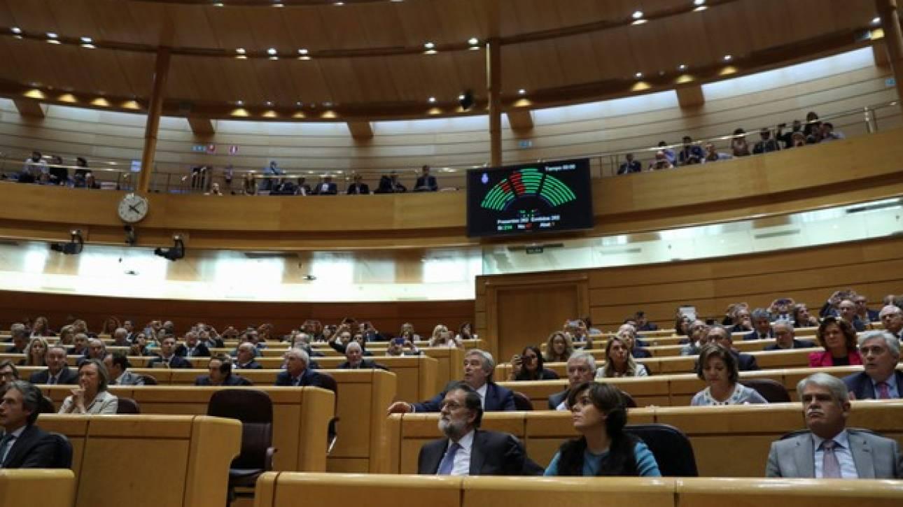 Ισπανία: Η Γερουσία ενεργοποίησε επίσημα το άρθρο 155 του Συντάγματος
