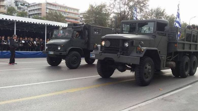 28η Οκτωβρίου: Σε εξέλιξη η στρατιωτική παρέλαση στη Θεσσαλονίκη