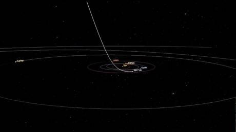 Ο πρώτος επισκέπτης έξω από το πλανητικό μας σύστημα