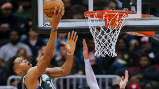 NBA: Κάρφωσε σε 3 αντιπάλους ο Αντετοκούνμπο στην Ατλάντα! (vid)