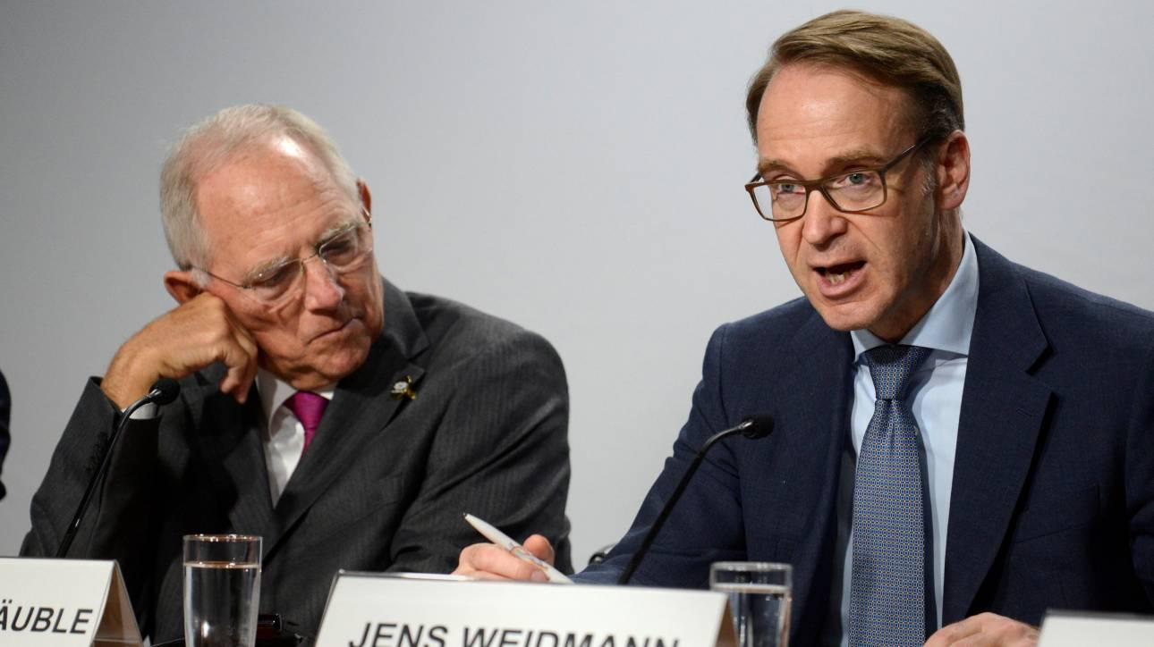 Αντίθετη η Γερμανία με την επέκταση του QE έως το Σεπτέμβριο 2018