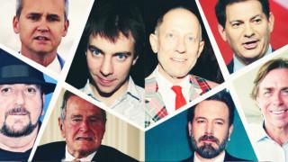Η λίστα της ντροπής: όλοι οι διάσημοι κατηγορούμενοι για σεξουαλική κακοποίηση