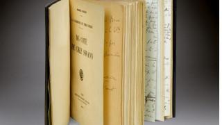 Σε δημοπρασία ο σπάνιος πρώτος τόμος του «Αναζητώντας τον χαμένο χρόνο» του Προυστ (pics)