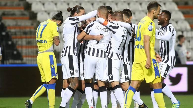 Super League: Επανήλθε στη 2η θέση ο ΠΑΟΚ με νίκη επί του Αστέρα Τρ.