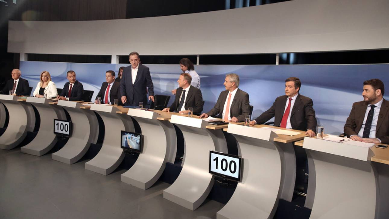 Διαφωνίες για τις κυβερνητικές συνεργασίες στο ντιμπέιτ για την Κεντροαριστερά