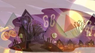 Αφιερωμένο στο Halloween το Doodle της Google (vid)