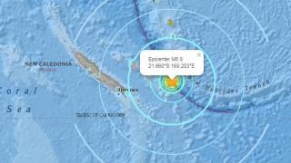 Ισχυρός υποθαλάσσιος σεισμός κοντά στη Νέα Καληδονία