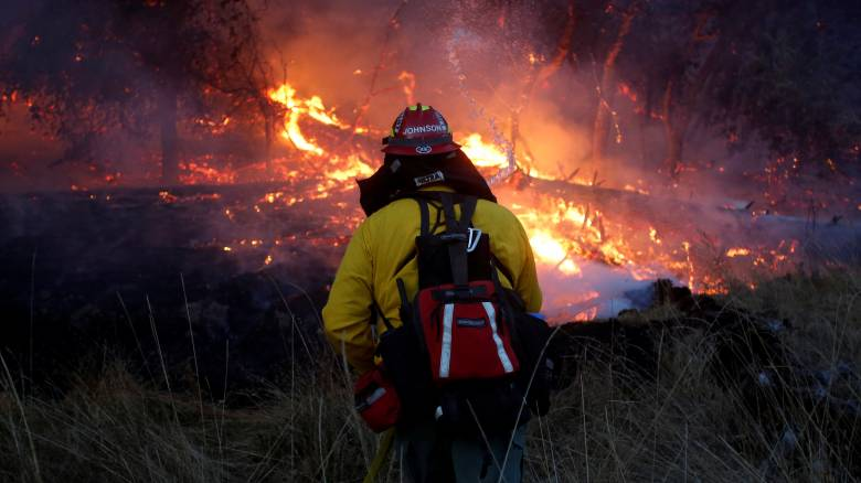 Καλιφόρνια: Αυξήθηκε ο αριθμός των νεκρών από τις πυρκαγιές του Οκτωβρίου