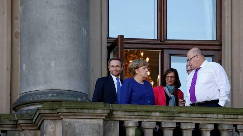 Γερμανία: Θετικότερο κλίμα διαμορφώνεται στις διερευνητικές συνομιλίες (pics)